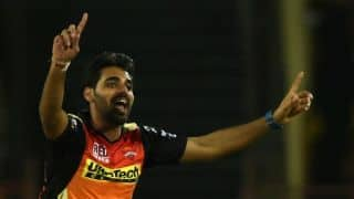 IPL 2018: Kane Williamson hopeful of Bhuvneshwar Kumar getting fit for SRH's tie against DD