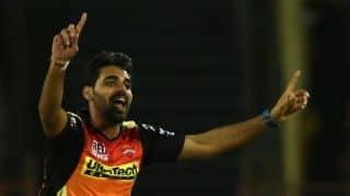 IPL 2018: Kane Williamson hopeful of Bhuvneshwar Kumar getting fit for SRH's tie against DD