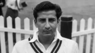 Fazal Mahmood engineers Pakistan's first ever Test match victory
