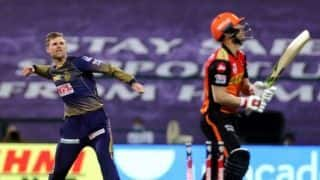 SRH vs KKR: Lockie ferguson reacts after taking Kolkata Knight riders to victory against Sunrisers Hyderabad