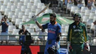 Virat Kohli century helps India set 304 target for South Africa in 3rd ODI