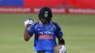 India claim No.1 spot in ICC ODI Rankings after Durban win