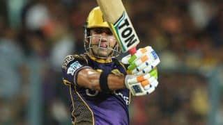 Gautam Gambhir, Manish Pandey's half-century propel KKR to 183-5 against RCB in IPL 2016