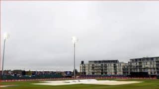 पाकिस्तान-बांग्लादेश प्रैक्टिस मैच बारिश के चलते हुए रद्द