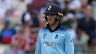 Cricket World Cup 2019: Jason Roy faces disciplinary action for showing dissent