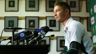 Pakistan vs Australia 2014: Michael Clarke believes Pakistan thrashing same as against India in 2013