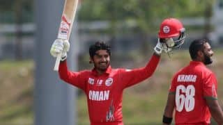 Asia Cup Qualifiers: Aqib Ilyas hits century, Oman beat Singapore by eight wickets