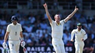 3rd Test, Day 2 : England collapse to 54/6 at lunch with Root registering second straight duck