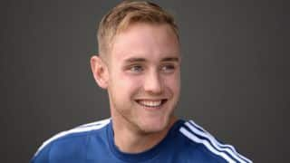 Broad lauds England's batting line-up