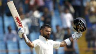 Virat kohli is Only captain to score 1,000 Test runs in three consecutive years