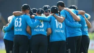 England marks out of ten