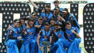 Adelaide Strikers lift maiden BBL trophy