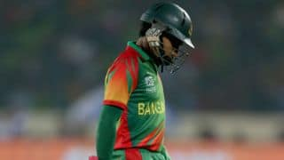 ICC World T20 2014: Mushfiqur Rahim feels let down by team's poor form