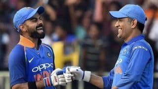 MS Dhoni will remain valuable and is on same page with Indian team management: Virat Kohli