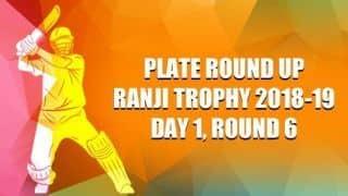 Ranji Trophy 2018-19, Plate, Round 6, Day 1: Ashutosh Aman's eight wickets put Bihar on top versus Meghalaya