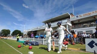 Leicestershire vs India tour game: India make positive start