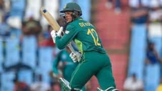Beating Australia 3-0 A Highlight: Quinton de Kock