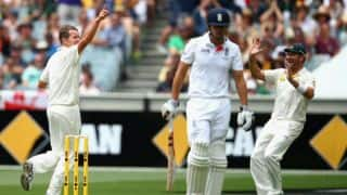 Ashes 2013-14: England are at 71/1 at lunch on Day 1 of 4th Test at MCG