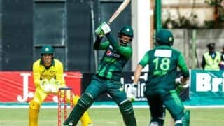 Pakistan cruise to win in final vs Australia, clinch Zimbabwe Tri-Series T20 trophy