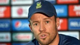 AB de Villiers' autobiography to be released in November 2015
