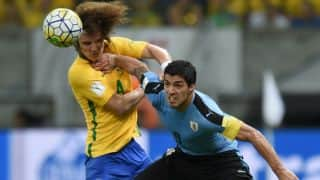 FIFA World Cup Qualifier: Luis Suarez's goal helps Uruguay draw with Brazil