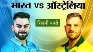 ऑस्ट्रेलिया ने भारत को 34 रन से हराया, सीरीज में बनाई बढ़त
