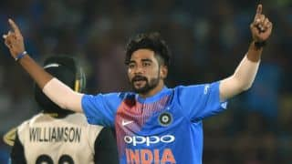 Mohammed Siraj, Basil Thampi to travel South Africa with Team India as net pacers