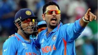 Yuvraj Singh, MS Dhoni's centuries help India set 382 run target vs England in 2nd ODI at Cuttack