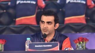 IPL 2018: Gautam Gambhir named captain of Delhi Daredevils