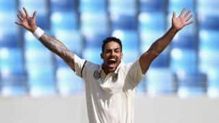 Pakistan vs Australia 2014: Mitchell Johnson shows signs of effectiveness on unhelpful surfaces