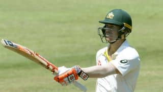 David Warner's 50 keeps Australia in command against South Africa at lunch on Day 1, 2nd Test