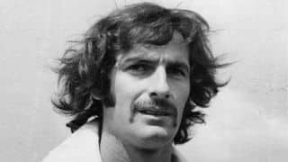 Dennis Lillee lifts sagging spirits of Australian team on debut against England at Adelaide in 1971