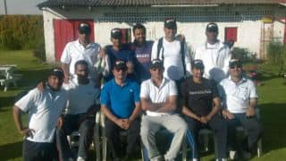 Cricket in Columbia: Rest of the World XI beat India XI