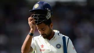 India lose Murali Vijay, India struggling at 36 for five on Day 1 against England at The Oval
