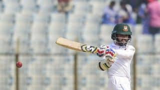 Bangladesh vs West Indies: Mominul Haque hundred carries hosts to 216/3 at tea
