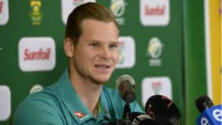 "Steven Smith looking forward to ""fiery series"" in South Africa"