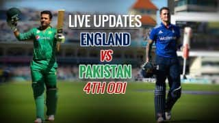 ENG win by 4 wickets | Lead series 4-0 | Live Cricket Score, Pakistan Vs England, 4th ODI