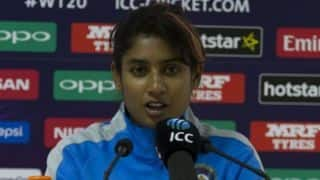 Time to bring focus back on cricket; Mithali Raj