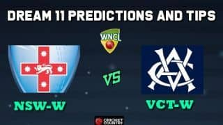 NSW-W vs VCT-W Dream11 Team New South Wales Breakers vs Victoria Women Match 7 WNCL 2019-20 Aussie Women's ODD – Cricket Prediction Tips For Today's Match at Adelaide