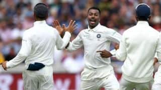 Hardik Pandya moves up in ICC Test all-rounders rankings