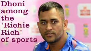 MS Dhoni among highest paid sportspersons