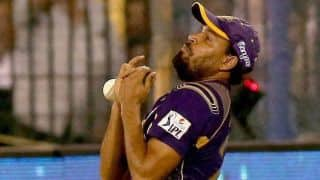 KKR players return from training camp in South Africa