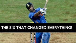 VIDEO: MS Dhoni's final six against Sri Lanka in ICC World Cup 2011
