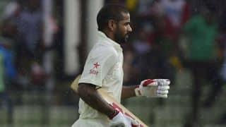 Video: Shikhar Dhawan in indoor batting nets ahead of Sri Lanka series