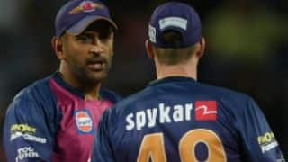 IPL 2017: MS Dhoni plays his maiden IPL game as a wicketkeeper-batsman