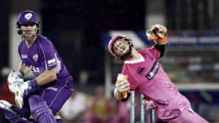 Hurricanes vs Knights, 9th CLT20 2014 match