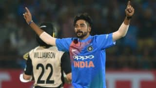 India vs New Zealand 2017 T20Is: Jasprit Bumrah backs newcomer Mohammed Siraj