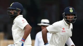 India vs England 1st Test, Day 3 Tea Report: Cheteshwar Pujara, Murali Vijay continue to grind visitors