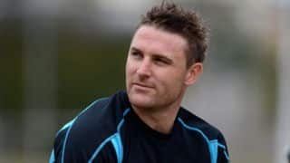 Brendon McCullum hails New Zealand team for their fine showing against India at Hamilton