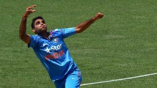 India vs West Indies, ICC World T20 2014: Bhuvneshwar Kumar records most economical figures in T20 Internationals